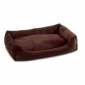 Luxury Plush Bumper Dog Beds
